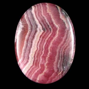 Shop Rhodochrosite Cabochons! 40mm pink rhodochrosite oval cabochon cab S1 17492 | Natural genuine stones & crystals in various shapes & sizes. Buy raw cut, tumbled, or polished gemstones for making jewelry or crystal healing energy vibration raising reiki stones. #crystals #gemstones #crystalhealing #crystalsandgemstones #energyhealing #affiliate #ad