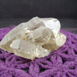 Shop Raw & Rough Rutilated Quartz Stones! Large Rutilated Quartz Crystal Cluster Natural Terminated Rare Unique Display Gold Golden Rutile | Natural genuine stones & crystals in various shapes & sizes. Buy raw cut, tumbled, or polished gemstones for making jewelry or crystal healing energy vibration raising reiki stones. #crystals #gemstones #crystalhealing #crystalsandgemstones #energyhealing #affiliate #ad