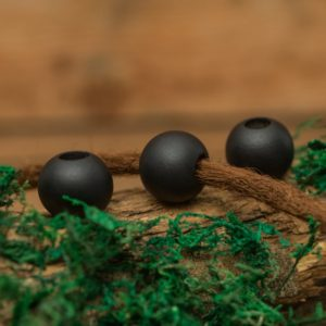 Shop Dread Beads! Set of 5 Hinoki Wood Dread Beads  9.4mm Hole Size. Jewellery Making Black Colour | Natural genuine beads Gemstone beads for beading and jewelry making.  #jewelry #beads #beadedjewelry #diyjewelry #jewelrymaking #beadstore #beading #affiliate #ad