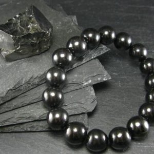 Shop Shungite Bracelets! Shungite Genuine Bracelet ~ 7 Inches  ~ 12mm Round Beads | Natural genuine Shungite bracelets. Buy crystal jewelry, handmade handcrafted artisan jewelry for women.  Unique handmade gift ideas. #jewelry #beadedbracelets #beadedjewelry #gift #shopping #handmadejewelry #fashion #style #product #bracelets #affiliate #ad