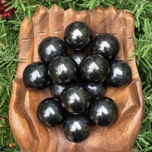 Shop Shungite Shapes! RARE Shungite Sphere – Shungite Stone – Healing Crystals – Healing Stones – Home Decor – Sacred Space | Natural genuine stones & crystals in various shapes & sizes. Buy raw cut, tumbled, or polished gemstones for making jewelry or crystal healing energy vibration raising reiki stones. #crystals #gemstones #crystalhealing #crystalsandgemstones #energyhealing #affiliate #ad