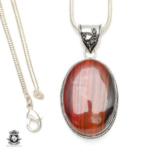 Shop Tiger Eye Pendants! Brings Joy and Comfort! RED Tiger Eye Pendant 4MM Italian Snake Chain V243 | Natural genuine Tiger Eye pendants. Buy crystal jewelry, handmade handcrafted artisan jewelry for women.  Unique handmade gift ideas. #jewelry #beadedpendants #beadedjewelry #gift #shopping #handmadejewelry #fashion #style #product #pendants #affiliate #ad