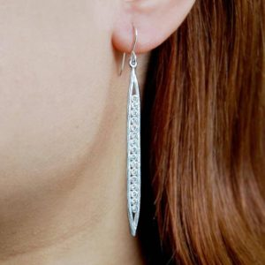 Shop Topaz Earrings! White Topaz Drop Earrings,Long Silver Earrings,Gemstone Drop Earrings,Birthstone Dangle Earrings,Long Modern Earrings,Unusual Earrings   Natural genuine Topaz earrings. Buy crystal jewelry, handmade handcrafted artisan jewelry for women.  Unique handmade gift ideas. #jewelry #beadedearrings #beadedjewelry #gift #shopping #handmadejewelry #fashion #style #product #earrings #affiliate #ad