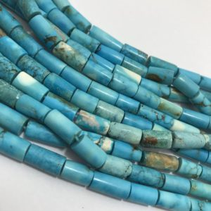 Turquoise  Plain Tube 2.5×7 to 5×11 mm 17 inches 140 cts/Turquoise/Plain Tube/Semiprecious Beads/Rare Beads/Stone Beads/Gemstone Beads/Beads   Natural genuine other-shape Gemstone beads for beading and jewelry making.  #jewelry #beads #beadedjewelry #diyjewelry #jewelrymaking #beadstore #beading #affiliate #ad
