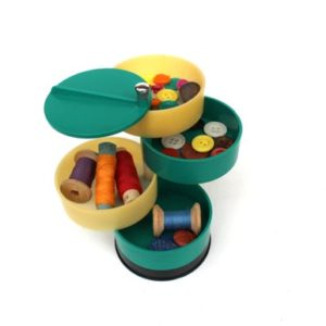 Shop Storage for Beading Supplies! Vintage button organizer Button box Plastic box for buttons Button storage box Sewing tool box Charms storage box Jewelry box Bead Storage | Shop jewelry making and beading supplies, tools & findings for DIY jewelry making and crafts. #jewelrymaking #diyjewelry #jewelrycrafts #jewelrysupplies #beading #affiliate #ad