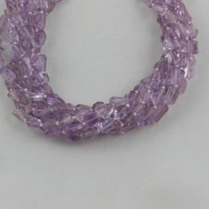 1 Strand Natural Pink Amethyst Faceted Nugget Beads 6-10mm Approx 14 Inch Long Strand,Amethyst,Natural Pink Amethyst,Nuggets Amethyst Beads | Natural genuine chip Array beads for beading and jewelry making.  #jewelry #beads #beadedjewelry #diyjewelry #jewelrymaking #beadstore #beading #affiliate #ad