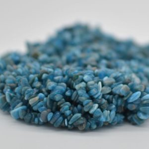 """Shop Apatite Chip & Nugget Beads! High Quality Grade A Natural Dark Apatite Semi-precious Gemstone Chips Nuggets Beads – 5mm – 8mm, approx 36"""" Strand   Natural genuine chip Apatite beads for beading and jewelry making.  #jewelry #beads #beadedjewelry #diyjewelry #jewelrymaking #beadstore #beading #affiliate #ad"""