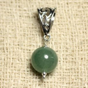Shop Aventurine Pendants! Gemstone – Aventurine Green 12 mm pendant | Natural genuine Aventurine pendants. Buy crystal jewelry, handmade handcrafted artisan jewelry for women.  Unique handmade gift ideas. #jewelry #beadedpendants #beadedjewelry #gift #shopping #handmadejewelry #fashion #style #product #pendants #affiliate #ad