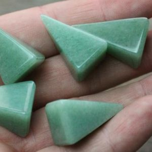 Shop Aventurine Shapes! Aventurine Small Tall Pyramid M97 | Natural genuine stones & crystals in various shapes & sizes. Buy raw cut, tumbled, or polished gemstones for making jewelry or crystal healing energy vibration raising reiki stones. #crystals #gemstones #crystalhealing #crystalsandgemstones #energyhealing #affiliate #ad
