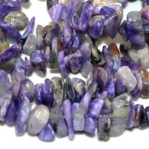 Shop Charoite Chip & Nugget Beads! Genuine Charoite Gemstones, Purple, Pebble Chip Slice, 13X5MM-5X3MM Loose Beads 16 inch Full Strand (90108534-106A) | Natural genuine chip Charoite beads for beading and jewelry making.  #jewelry #beads #beadedjewelry #diyjewelry #jewelrymaking #beadstore #beading #affiliate #ad