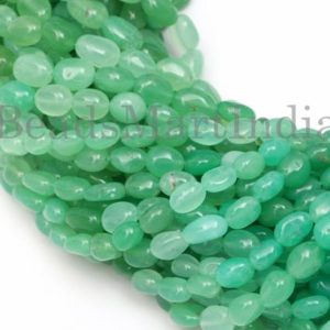 Shop Chrysoprase Chip & Nugget Beads! Top Quality Chrysoprase Plain Nuggets Shape Gemstone Beads, Chrysoprase Plain Nugget Beads, Chrysoprase Smooth Beads, Chrysoprase Beads | Natural genuine chip Chrysoprase beads for beading and jewelry making.  #jewelry #beads #beadedjewelry #diyjewelry #jewelrymaking #beadstore #beading #affiliate #ad