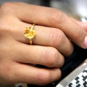 Shop Citrine Rings! 14k solid gold ring,Citrine ring,solid gold band,stacking ring,gold ring,gemstone ring,fine rings,delicate cocktail ring | Natural genuine Citrine rings, simple unique handcrafted gemstone rings. #rings #jewelry #shopping #gift #handmade #fashion #style #affiliate #ad