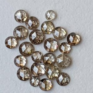 Shop Diamond Cabochons! 2-3mm Light Champagne Rose Cut Diamond, Rare Natural Rose Cut Diamond Cabochon, Faceted Diamond, Rose Cut Diamond For Jewelry (2Pc To 4Pc) | Natural genuine stones & crystals in various shapes & sizes. Buy raw cut, tumbled, or polished gemstones for making jewelry or crystal healing energy vibration raising reiki stones. #crystals #gemstones #crystalhealing #crystalsandgemstones #energyhealing #affiliate #ad