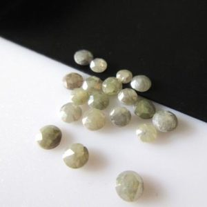 Shop Diamond Cabochons! 6 Pieces, 3mm Olive Green Rose Cut Diamond, Rose Cut Cabochon, Excellent Cut/Height/Lustre Rose Cut Diamond, DDS357/2 | Natural genuine stones & crystals in various shapes & sizes. Buy raw cut, tumbled, or polished gemstones for making jewelry or crystal healing energy vibration raising reiki stones. #crystals #gemstones #crystalhealing #crystalsandgemstones #energyhealing #affiliate #ad