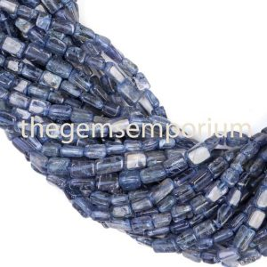 Iolite plain smooth brick Shape Beads, Iolite plain smooth Beads, Iolite brick Shape Beads, Iolite Beads | Natural genuine other-shape Iolite beads for beading and jewelry making.  #jewelry #beads #beadedjewelry #diyjewelry #jewelrymaking #beadstore #beading #affiliate #ad