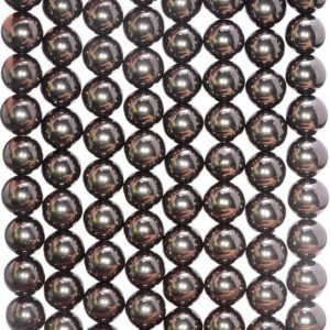 Shop Jet Beads! 10MM Organic Black Jet Gemstones Grade AAA Round Loose Beads 7.5 inch Half Strand (90181979-127)   Natural genuine round Jet beads for beading and jewelry making.  #jewelry #beads #beadedjewelry #diyjewelry #jewelrymaking #beadstore #beading #affiliate #ad