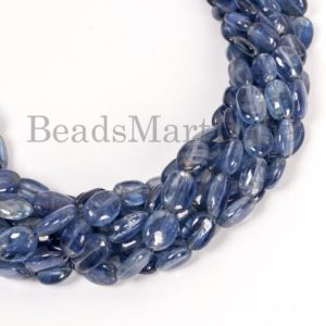 Shop Kyanite Chip & Nugget Beads! Kyanite Smooth Nugget Shape Gemstone Beads, Kyanite Plain Nugget Beads, Kyanite Natural Beads, Kyanite Beads, Kyanite Nugget Gemstone Beads | Natural genuine chip Kyanite beads for beading and jewelry making.  #jewelry #beads #beadedjewelry #diyjewelry #jewelrymaking #beadstore #beading #affiliate #ad