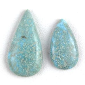 Shop Larimar Cabochons! Stunning 2 Pcs Natural Larimar Smooth Pear Cabochon,Larimar Loose Gemstone,Semi Precious Gemstone,Larimar,16×29-20x39mm,Pear,Wholesale Rate | Natural genuine stones & crystals in various shapes & sizes. Buy raw cut, tumbled, or polished gemstones for making jewelry or crystal healing energy vibration raising reiki stones. #crystals #gemstones #crystalhealing #crystalsandgemstones #energyhealing #affiliate #ad