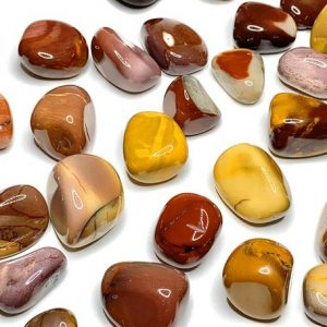 Shop Mookaite Jasper Stones & Crystals! Mookaite Jasper Tumbled Stone | Natural genuine stones & crystals in various shapes & sizes. Buy raw cut, tumbled, or polished gemstones for making jewelry or crystal healing energy vibration raising reiki stones. #crystals #gemstones #crystalhealing #crystalsandgemstones #energyhealing #affiliate #ad