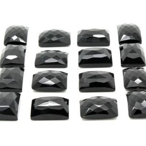 Shop Onyx Cabochons! Black onyx rectangle cabochon,faceted cabochon,black cabochon,semiprecious cabochons,faceted gemstone,gemstone cabochon – AA Quality | Natural genuine stones & crystals in various shapes & sizes. Buy raw cut, tumbled, or polished gemstones for making jewelry or crystal healing energy vibration raising reiki stones. #crystals #gemstones #crystalhealing #crystalsandgemstones #energyhealing #affiliate #ad