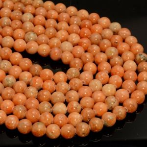Orange Calcite Gemstone Grade Aa Round 6mm 8mm 10mm 12mm Loose Beads 16 Inch Full Strand Bulk Lot 1, 2, 6, 12 And 50 (a273) | Natural genuine round Calcite beads for beading and jewelry making.  #jewelry #beads #beadedjewelry #diyjewelry #jewelrymaking #beadstore #beading #affiliate #ad