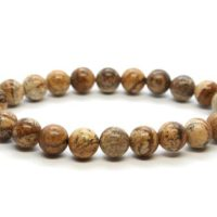 Picture Jasper Bracelet, Picture Jasper 8 Mm Bead Bracelet, Crystals Picture Jasper, Minerals Picture Jasper, Gemstones Picture Jasper | Natural genuine Gemstone jewelry. Buy crystal jewelry, handmade handcrafted artisan jewelry for women.  Unique handmade gift ideas. #jewelry #beadedjewelry #beadedjewelry #gift #shopping #handmadejewelry #fashion #style #product #jewelry #affiliate #ad