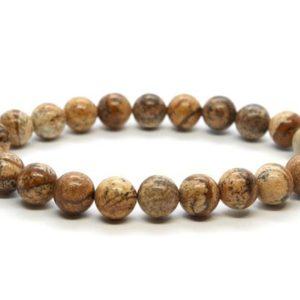Shop Picture Jasper Bracelets! Picture Jasper Bracelet, Picture Jasper 8 mm Bead Bracelet, Crystals Picture Jasper, Minerals Picture Jasper, Gemstones Picture Jasper | Natural genuine Picture Jasper bracelets. Buy crystal jewelry, handmade handcrafted artisan jewelry for women.  Unique handmade gift ideas. #jewelry #beadedbracelets #beadedjewelry #gift #shopping #handmadejewelry #fashion #style #product #bracelets #affiliate #ad