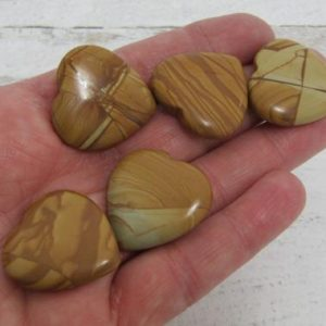 Shop Picture Jasper Stones & Crystals! Picture Jasper Flat Heart K124 | Natural genuine stones & crystals in various shapes & sizes. Buy raw cut, tumbled, or polished gemstones for making jewelry or crystal healing energy vibration raising reiki stones. #crystals #gemstones #crystalhealing #crystalsandgemstones #energyhealing #affiliate #ad