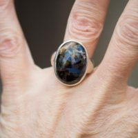 Pietersite Ring Size 7.75 – Pietersite Ring – Pietersite Ring 7.75 – Pietersite Jewelry – Pietersite Ring Size 7.75 – Pietersite Ring 7.75 | Natural genuine Gemstone jewelry. Buy crystal jewelry, handmade handcrafted artisan jewelry for women.  Unique handmade gift ideas. #jewelry #beadedjewelry #beadedjewelry #gift #shopping #handmadejewelry #fashion #style #product #jewelry #affiliate #ad