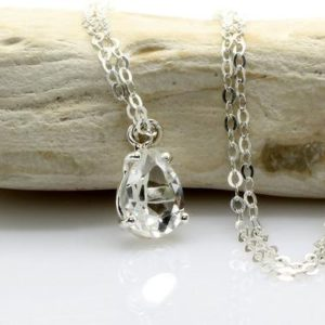 Shop Quartz Crystal Pendants! silver drop necklace,crystal quartz necklace,silver pendant,bridal necklace,silver necklace,vintage necklace | Natural genuine Quartz pendants. Buy handcrafted artisan wedding jewelry.  Unique handmade bridal jewelry gift ideas. #jewelry #beadedpendants #gift #crystaljewelry #shopping #handmadejewelry #wedding #bridal #pendants #affiliate #ad