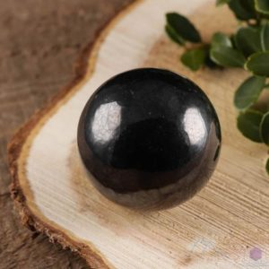 SHUNGITE Sphere – Crystal Ball, Housewarming Gift, Gothic Home Decor E0278 | Natural genuine stones & crystals in various shapes & sizes. Buy raw cut, tumbled, or polished gemstones for making jewelry or crystal healing energy vibration raising reiki stones. #crystals #gemstones #crystalhealing #crystalsandgemstones #energyhealing #affiliate #ad