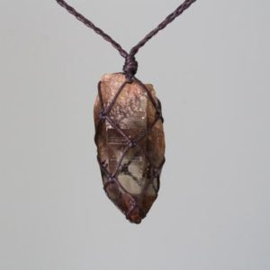Shop Smoky Quartz Necklaces! Gemmy Smoky Quartz Necklace | Natural genuine Smoky Quartz necklaces. Buy crystal jewelry, handmade handcrafted artisan jewelry for women.  Unique handmade gift ideas. #jewelry #beadednecklaces #beadedjewelry #gift #shopping #handmadejewelry #fashion #style #product #necklaces #affiliate #ad