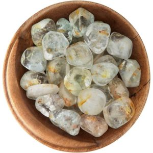 Shop Topaz Stones & Crystals! 1 White Topaz – Ethically Sourced Tumbled Stone | Natural genuine stones & crystals in various shapes & sizes. Buy raw cut, tumbled, or polished gemstones for making jewelry or crystal healing energy vibration raising reiki stones. #crystals #gemstones #crystalhealing #crystalsandgemstones #energyhealing #affiliate #ad