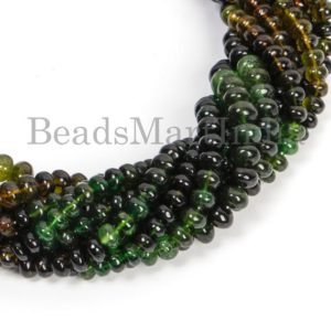 Shop Tourmaline Rondelle Beads! Chrome Tourmaline Beads, Tourmaline Beads, Tourmaline Smooth Beads, Tourmaline Rondelle Beads, Tourmaline Plain Rondelle Beads | Natural genuine rondelle Tourmaline beads for beading and jewelry making.  #jewelry #beads #beadedjewelry #diyjewelry #jewelrymaking #beadstore #beading #affiliate #ad