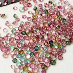 Shop Tourmaline Round Beads! 2.5-3mm Multi Tourmaline Round Cut Stones, Natural Multi Tourmaline Round Solitaire Cut For Jewelry (1Cts To 5Cts Options) – ADG93   Natural genuine round Tourmaline beads for beading and jewelry making.  #jewelry #beads #beadedjewelry #diyjewelry #jewelrymaking #beadstore #beading #affiliate #ad