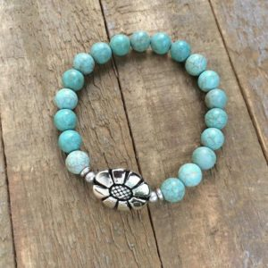 Shop Turquoise Bracelets! Turquoise Stone Bracelet, Turquoise Stretch Bracelet, Turquoise and Silver Bracelet, Boho Jewelry | Natural genuine Turquoise bracelets. Buy crystal jewelry, handmade handcrafted artisan jewelry for women.  Unique handmade gift ideas. #jewelry #beadedbracelets #beadedjewelry #gift #shopping #handmadejewelry #fashion #style #product #bracelets #affiliate #ad