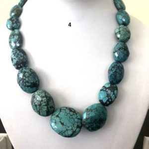 Shop Turquoise Chip & Nugget Beads! Natural Turquoise Oval Tumble Beads, Turquoise Nugget Beads, Faceted Turquoise beads, Turquoise Necklace, Turquoise Loose Beads, GDS1180 | Natural genuine chip Turquoise beads for beading and jewelry making.  #jewelry #beads #beadedjewelry #diyjewelry #jewelrymaking #beadstore #beading #affiliate #ad