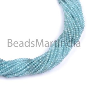 Shop Zircon Beads! Blue Zircon Shaded Faceted Machine Cut Rondelle Shape Beads, Natural Blue Zircon Diamond Cut Rondelle Shape Beads, Blue Zircon Faceted Beads | Natural genuine faceted Zircon beads for beading and jewelry making.  #jewelry #beads #beadedjewelry #diyjewelry #jewelrymaking #beadstore #beading #affiliate #ad