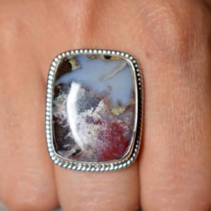 Shop Crazy Lace Agate Jewelry! US SIZE 8.75 – Crazy Lace Agate ring , lace agate ring , 925 sterling statement silver, agate gemstone silver ring , jewellery gift #B186 | Natural genuine Agate jewelry. Buy crystal jewelry, handmade handcrafted artisan jewelry for women.  Unique handmade gift ideas. #jewelry #beadedjewelry #beadedjewelry #gift #shopping #handmadejewelry #fashion #style #product #jewelry #affiliate #ad