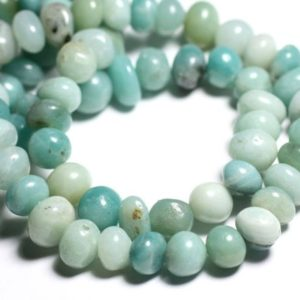 Shop Amazonite Chip & Nugget Beads! Wire 39cm 56pc Env – Stone Beads – Amazonite Pebbles 6-12mm   Natural genuine chip Amazonite beads for beading and jewelry making.  #jewelry #beads #beadedjewelry #diyjewelry #jewelrymaking #beadstore #beading #affiliate #ad