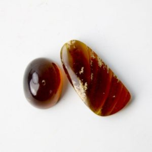 Shop Amber Cabochons! Amber Cabochon Pair | Natural genuine stones & crystals in various shapes & sizes. Buy raw cut, tumbled, or polished gemstones for making jewelry or crystal healing energy vibration raising reiki stones. #crystals #gemstones #crystalhealing #crystalsandgemstones #energyhealing #affiliate #ad