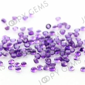 Shop Amethyst Cabochons! Amethyst (African) Cabochon 2mm Round – per stone | Natural genuine stones & crystals in various shapes & sizes. Buy raw cut, tumbled, or polished gemstones for making jewelry or crystal healing energy vibration raising reiki stones. #crystals #gemstones #crystalhealing #crystalsandgemstones #energyhealing #affiliate #ad