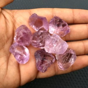 Shop Amethyst Pendants! 5 Pieces Natural Raw,Size 20-30 MM Pink Amethyst Gemstone,Natural Untreated Pink Amethyst Rough, Making Pink Amethyst Pendant Wholesale Raw | Natural genuine Amethyst pendants. Buy crystal jewelry, handmade handcrafted artisan jewelry for women.  Unique handmade gift ideas. #jewelry #beadedpendants #beadedjewelry #gift #shopping #handmadejewelry #fashion #style #product #pendants #affiliate #ad