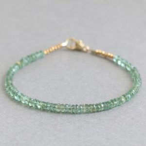Shop Apatite Bracelets! Apatite Bracelet, Green Apatite Bracelet, Gemstone Bracelet, Beaded Bracelet, Delicate Bracelet | Natural genuine Apatite bracelets. Buy crystal jewelry, handmade handcrafted artisan jewelry for women.  Unique handmade gift ideas. #jewelry #beadedbracelets #beadedjewelry #gift #shopping #handmadejewelry #fashion #style #product #bracelets #affiliate #ad