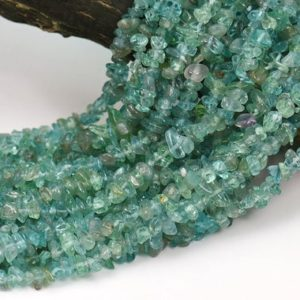 Shop Apatite Chip & Nugget Beads! 35 inch strand of Genuine blue apatite freeform chips irregular beads,nugget beads 5-8mm   Natural genuine chip Apatite beads for beading and jewelry making.  #jewelry #beads #beadedjewelry #diyjewelry #jewelrymaking #beadstore #beading #affiliate #ad