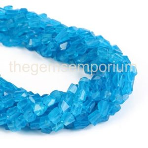 Shop Apatite Chip & Nugget Beads! Neon Apatite Faceted Nuggets Shape Gemstone Beads, Neon Apatite faceted Gemstone Beads, Neon Apatite Beads, Gemstone for Jewelry Making   Natural genuine chip Apatite beads for beading and jewelry making.  #jewelry #beads #beadedjewelry #diyjewelry #jewelrymaking #beadstore #beading #affiliate #ad