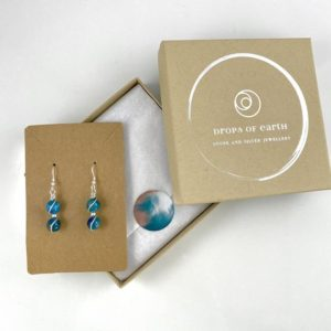 Shop Apatite Earrings! Blue Apatite Earrings, Sterling Silver, Blue Crystal earrings | Natural genuine Apatite earrings. Buy crystal jewelry, handmade handcrafted artisan jewelry for women.  Unique handmade gift ideas. #jewelry #beadedearrings #beadedjewelry #gift #shopping #handmadejewelry #fashion #style #product #earrings #affiliate #ad
