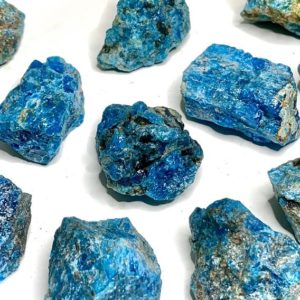 Shop Apatite Stones & Crystals! Blue Apatite Stones Rough | Natural genuine stones & crystals in various shapes & sizes. Buy raw cut, tumbled, or polished gemstones for making jewelry or crystal healing energy vibration raising reiki stones. #crystals #gemstones #crystalhealing #crystalsandgemstones #energyhealing #affiliate #ad