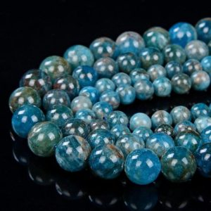 Shop Apatite Round Beads! Natural Apatite Gemstone Grade AA Round 5MM 6MM 7MM 8MM 9MM 10MM Loose Beads BULK LOT 1,2,6,12 and 50 (D22)   Natural genuine round Apatite beads for beading and jewelry making.  #jewelry #beads #beadedjewelry #diyjewelry #jewelrymaking #beadstore #beading #affiliate #ad