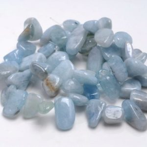 Shop Aquamarine Chip & Nugget Beads! 11-14MM  Aquamarine Gemstone Pebble Nugget Chip Loose Beads 15.5 inch  (80001893-A24) | Natural genuine chip Aquamarine beads for beading and jewelry making.  #jewelry #beads #beadedjewelry #diyjewelry #jewelrymaking #beadstore #beading #affiliate #ad